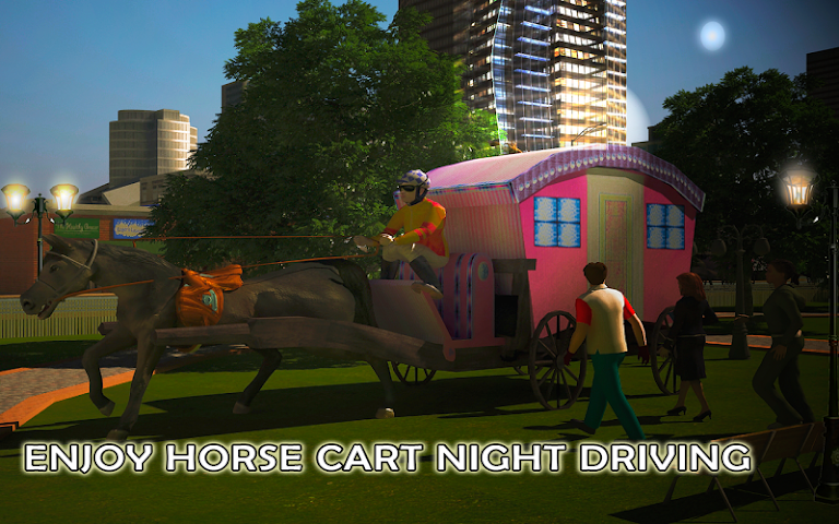android Horse Carriage Transport Drive Screenshot 11
