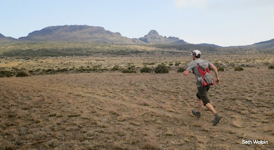 Photo: Testing out my ultraspire fastpack for the circumnavigation, Shira Plateau on Kilimanjaro.