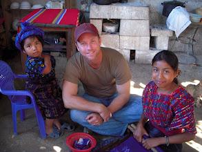 Photo: Sitting with Maya children at Lake Atitlan, Guatemala.