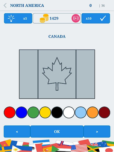 The Flags of the World u2013 Nations Geo Flags Quiz 4.9 screenshots 11