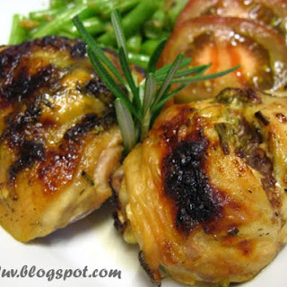 Grilled Garlic And Rosemary Marylands.