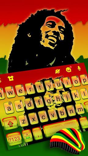 Reggae Style Keyboard Theme 1.0 screenshots 1