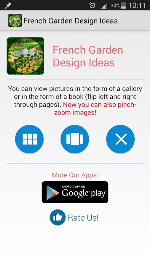 French Garden Design Android Apps on Google Play