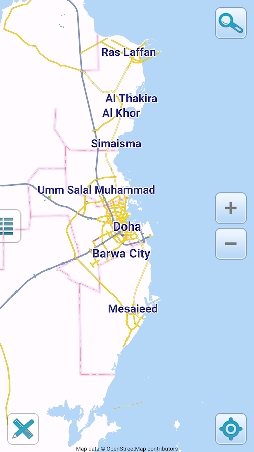 Map of Qatar offline  Android Apps on Google Play