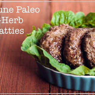 Autoimmune Paleo Three-Herb Beef Patties.