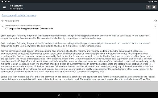 Pennsylvania Statutes 2018 (all free offline) 0.01 screenshots 10