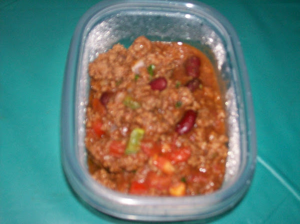 Lina's Meaty Hearty Chili Recipe