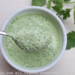 Cilantro JalapeñO Yogurt Sauce or Dip Recipe