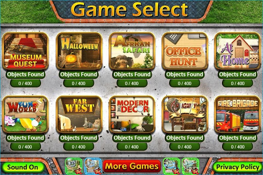 Pack 16 - 10 in 1 Hidden Object Games by PlayHOG apkpoly screenshots 1