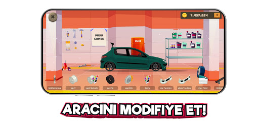 2D Araba Serisi - Modifiye Simulatoru 2.3 screenshots 3