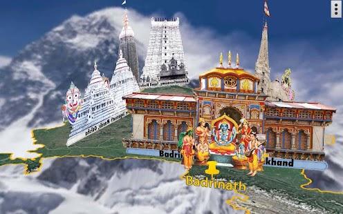 4D Char Dham Live Wallpaper - náhled
