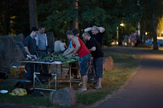 Photo: Kesäyössä voi myös pelata / The summer night is also a good time and place for some gaming
