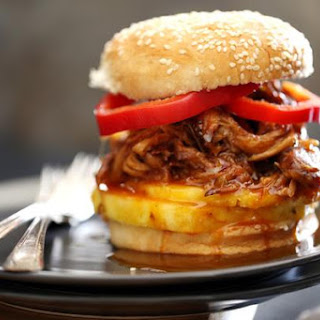 PINEAPPLE AND HABANERO SLOW COOKER PULLED PORK.