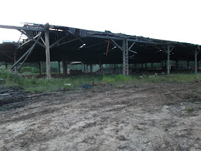 Photo: Bekas kilang kayu Sawmill