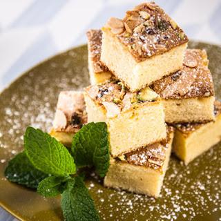 Iranian Cardamom Tea Cake.
