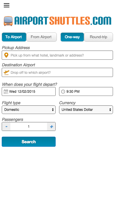 AirportShuttles.com Rides- screenshot
