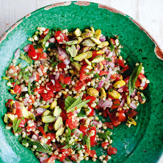 Tabbouleh with Pistachios.