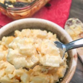 Cheesy Diced Potato Bake Recipes.