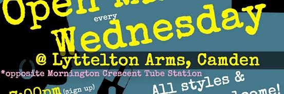 UK Open Mic @ Lyttelton Arms in Camden / Mornington Crescent on 2019-05-22