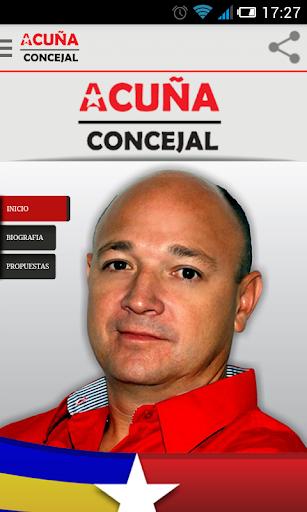 Felipe Acuña Consejal