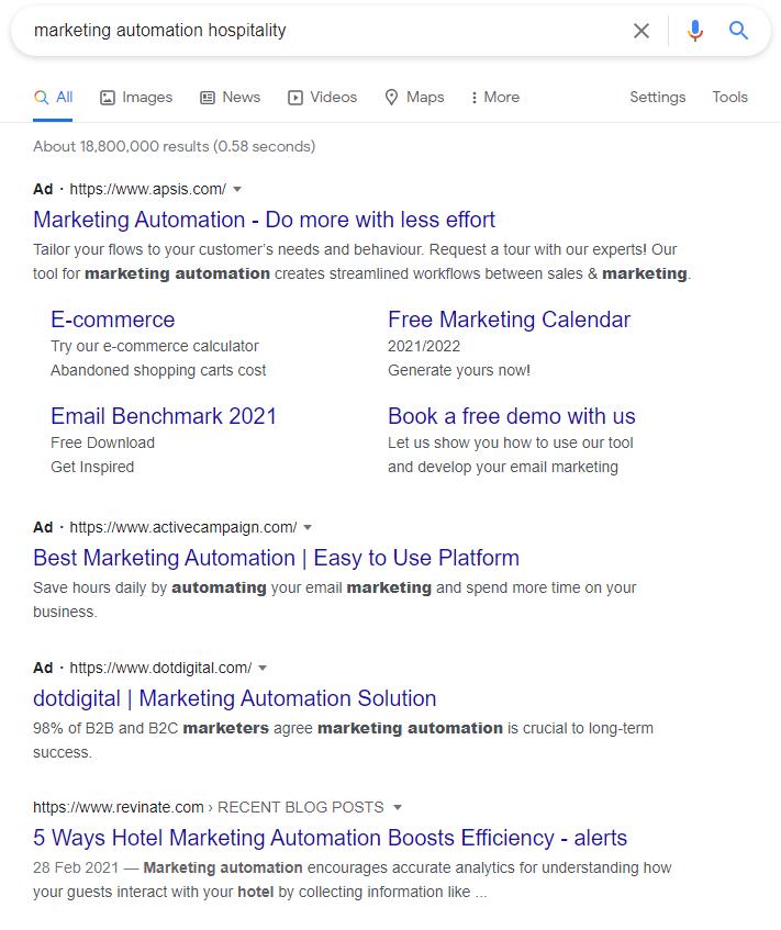 Marketing Automation - PPC Example