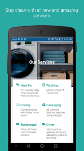 Remphi - The Dryclean App- screenshot thumbnail