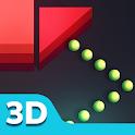 Ball 3D - Bricks Ball Breaker Puzzle icon