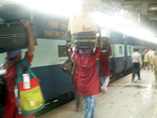 L'India dei treni di mazzacake