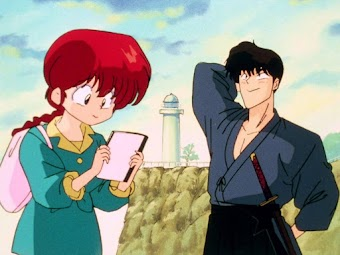 Ranma and Kuno's...First Kiss