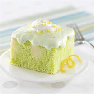 Creamy Lemon-Lime Cake.