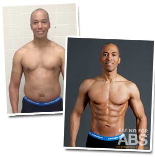 Andre before and after