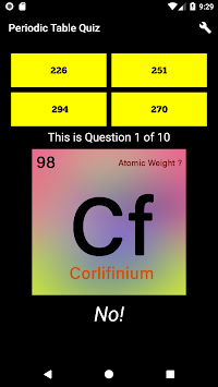 Download periodic table quiz chemistry elements 2018 apk latest periodic table quiz chemistry elements 2018 poster urtaz Images