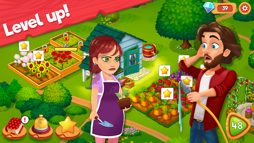 Delicious B&B: Match 3 game & Interactive story apkdebit screenshots 4