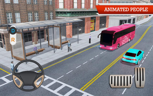Coach Bus Simulator Game screenshot 14