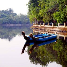 @ Situ Babakan.. Jakarta by Dwi Ratna Miranti - Transportation Boats