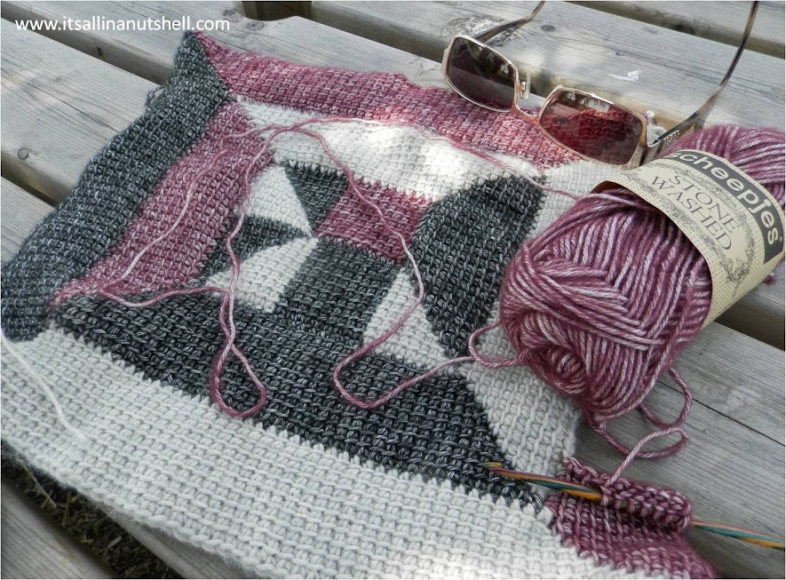 tunisian crochet 10 stitch design