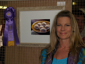 """Photo: I was thrilled to win """"Best of Show"""" with my painting """"Eggs in Water"""" at the Florida Strawberry Festival!"""