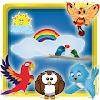 Bird Kids Memory Game