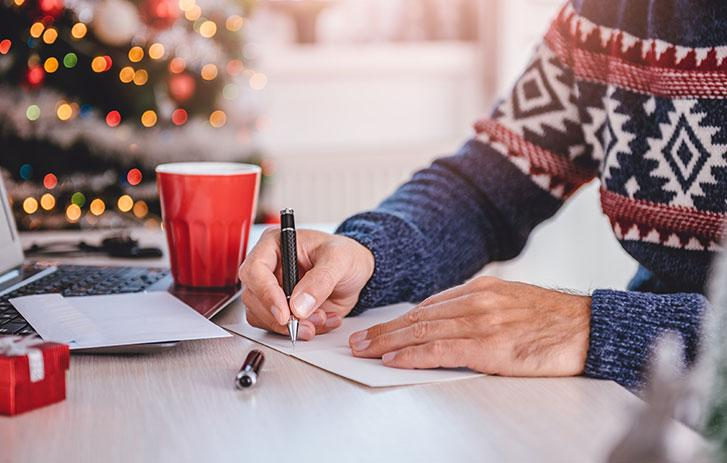 Company Christmas Cards & Holiday Messages to Clients | FedEx
