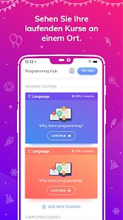 Programmier-Hub: Lernen Sie zu kodieren Screenshot