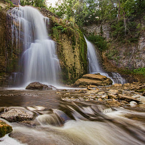 Walters falls by Carl Chalupa - Landscapes Waterscapes ( water, walters falls, waterfalls, falls,  )