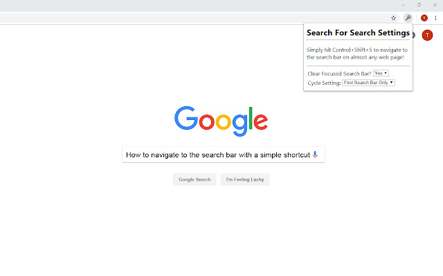 Search for Search
