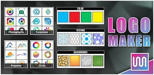دانلود برنامه Logo Maker - Logo Creator, Generator & Designer