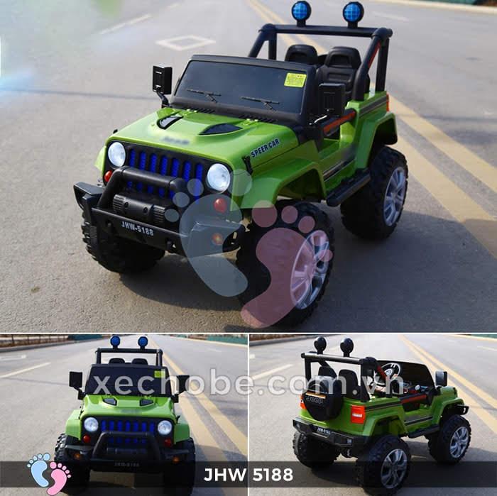 Xe ô tô điện 4 động cơ JHW5188 7