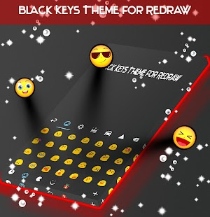 Black Keys Theme for Redraw - náhled