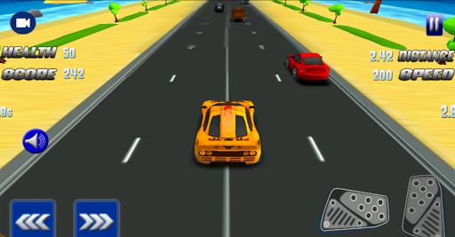 Turbo Car Traffic Racing 3D