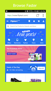 Velocity - Fast & Private Indian Browser - náhled