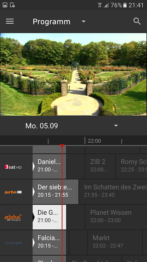osnatel TV – Screenshot