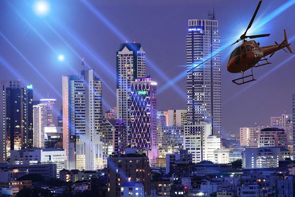Luci futuristiche di BastetC