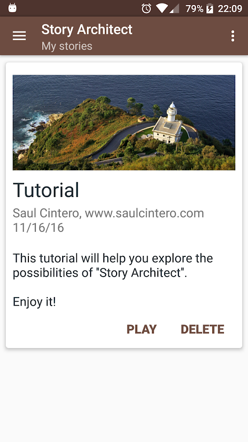 Story Architect- screenshot